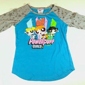 The Powerpuff Girls Long Sleeve Girls Shirt
